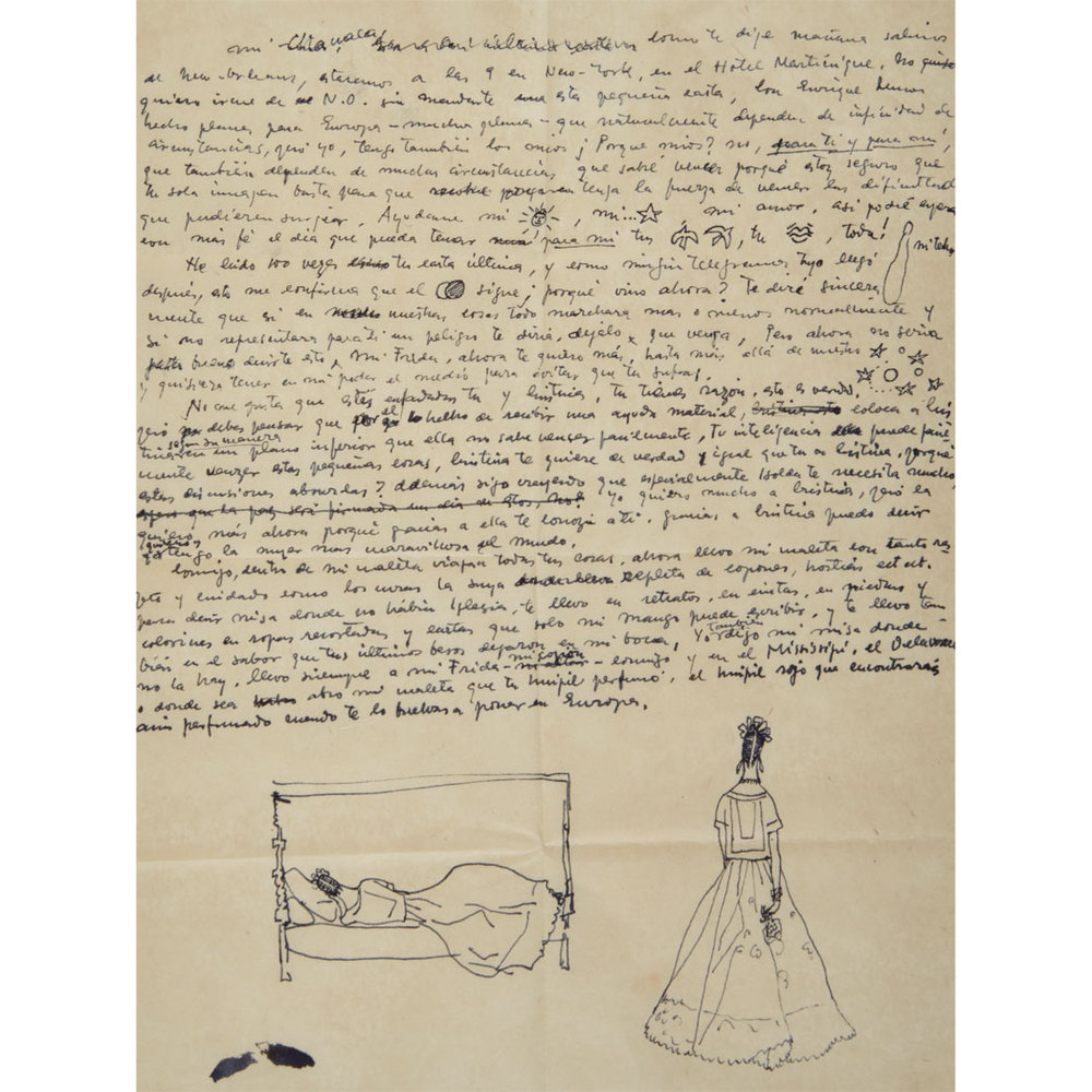 Frida kahlos love letters give glimpse into the guarded artists frida kahlos love letters give glimpse into the guarded artists private life spiritdancerdesigns Gallery