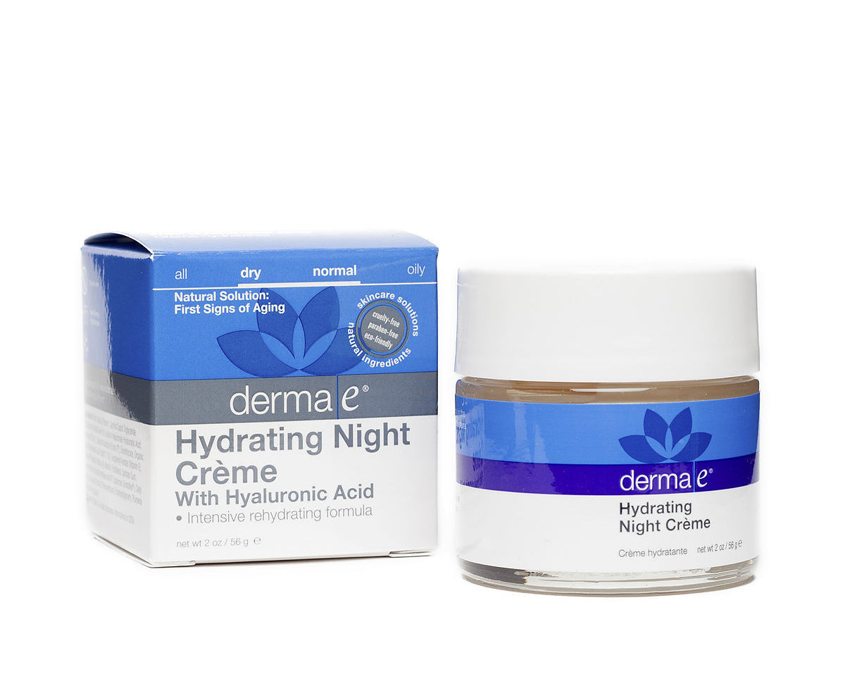 "Smooth on this intensely-moisturizing crème before bed to soften skin and smooth fine lines. <a href=""https://thrivemarket.co"