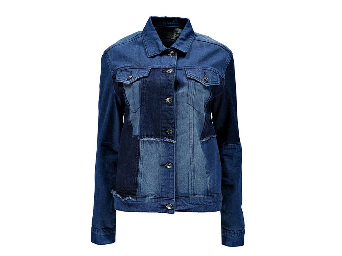 "<a href=""http://www.boohoo.com/coats+jackets/alex-patch-work-denim-jacket/invt/azz19193?utm_source=polyvore&utm_medium=aff&ut"