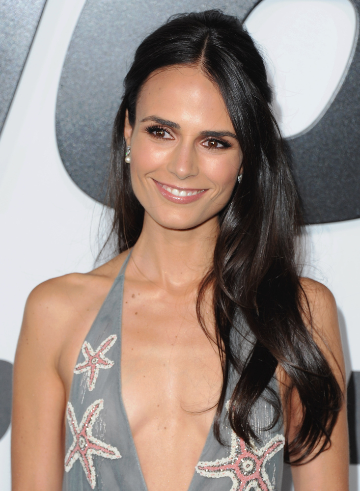 HOLLYWOOD, CA - APRIL 01:  Actress Jordana Brewster arrives at the Los Angeles Premiere 'Furious 7' at TCL Chinese Theatre IM