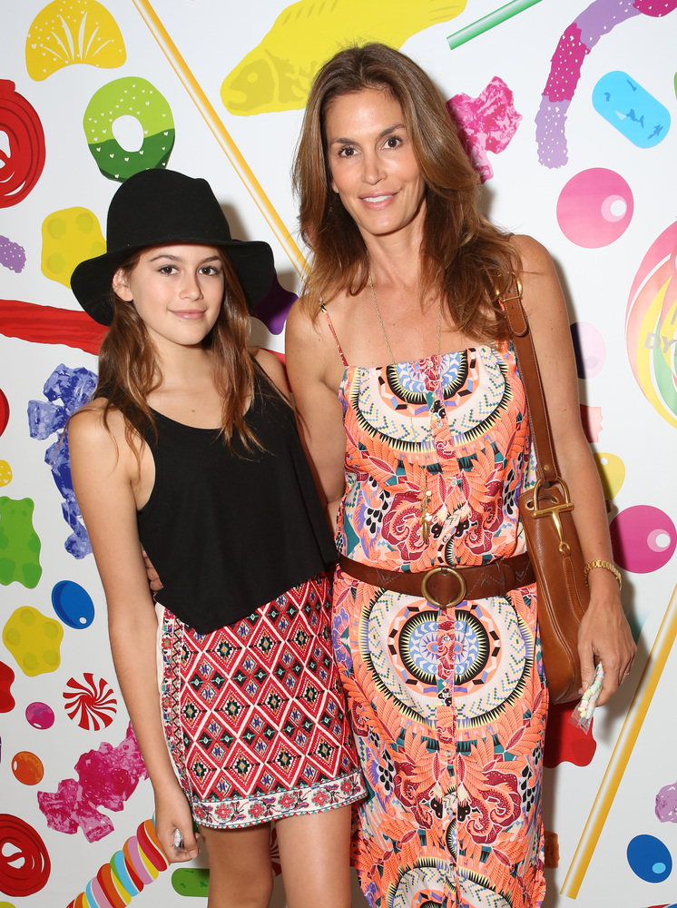 Cindy Crawford's 13-year-old daughter Kaia looks just like her! The successful model is also a mother to a son named Presley,