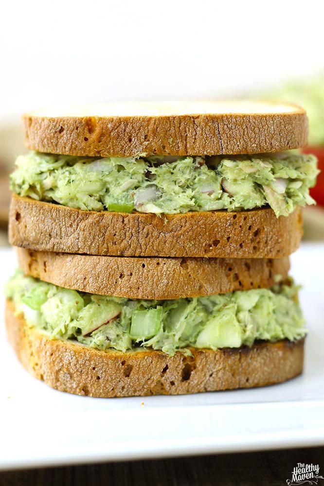 "Avocado and tuna make a really nice team -- and a wonderfully nutritious meal. The creamy avocado supplies <a href=""http://ww"