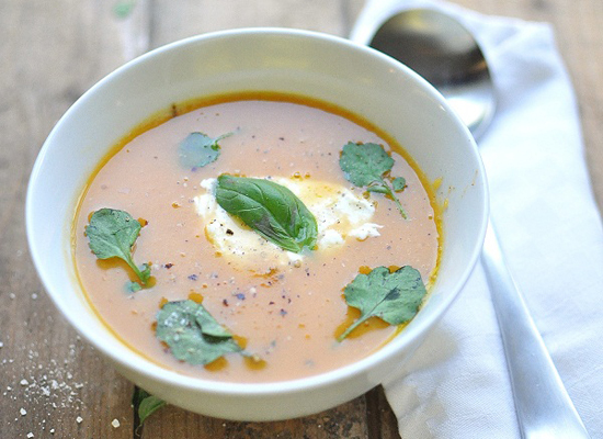 """<strong>Get the <a href=""""http://www.versesfrommykitchen.com/2011/08/saturday-soup-and-big-chewy-cookies.html"""">Sweet Potato So"""