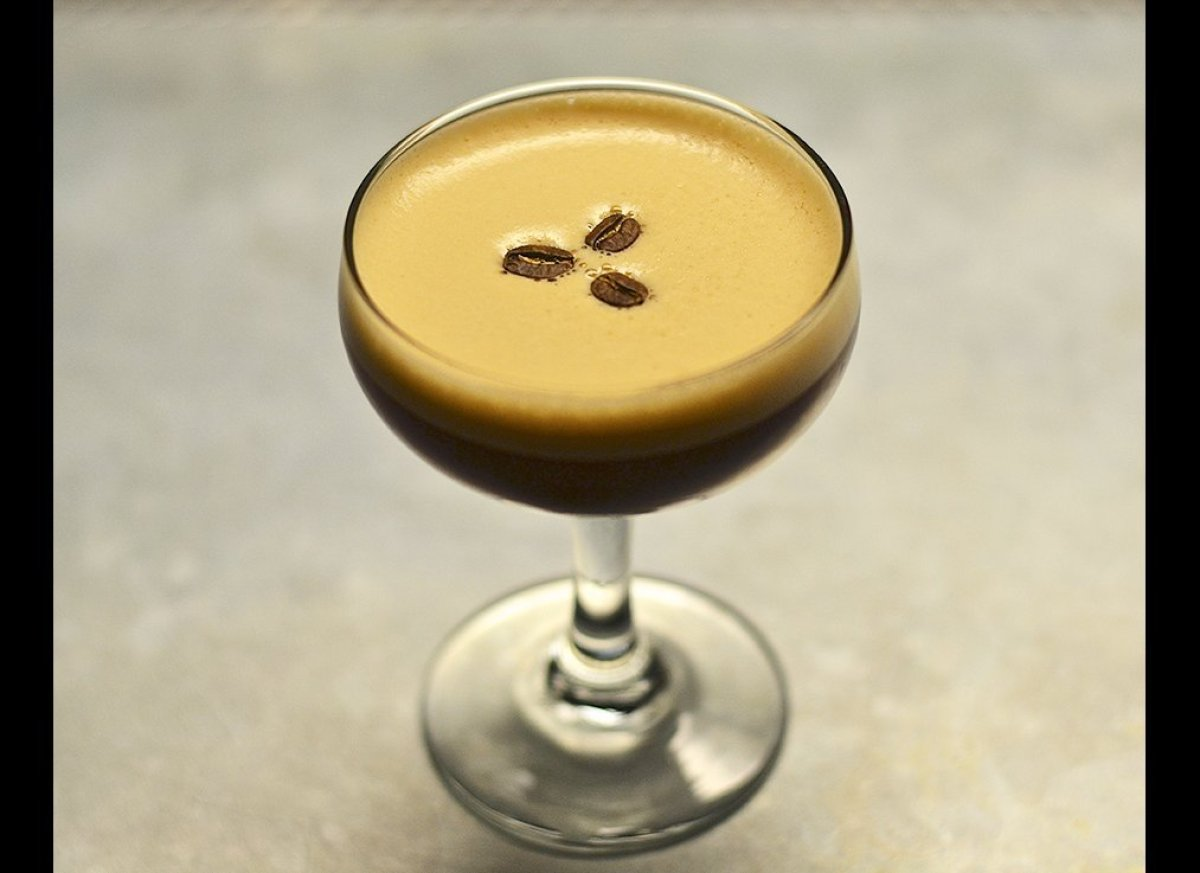 An espresso martini by any other name, the Vodka Espresso is simple and uncomplicated, but with the added boost of both stron