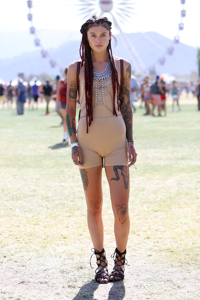 The Most Coachella Outfits At Coachella 2015 Huffpost