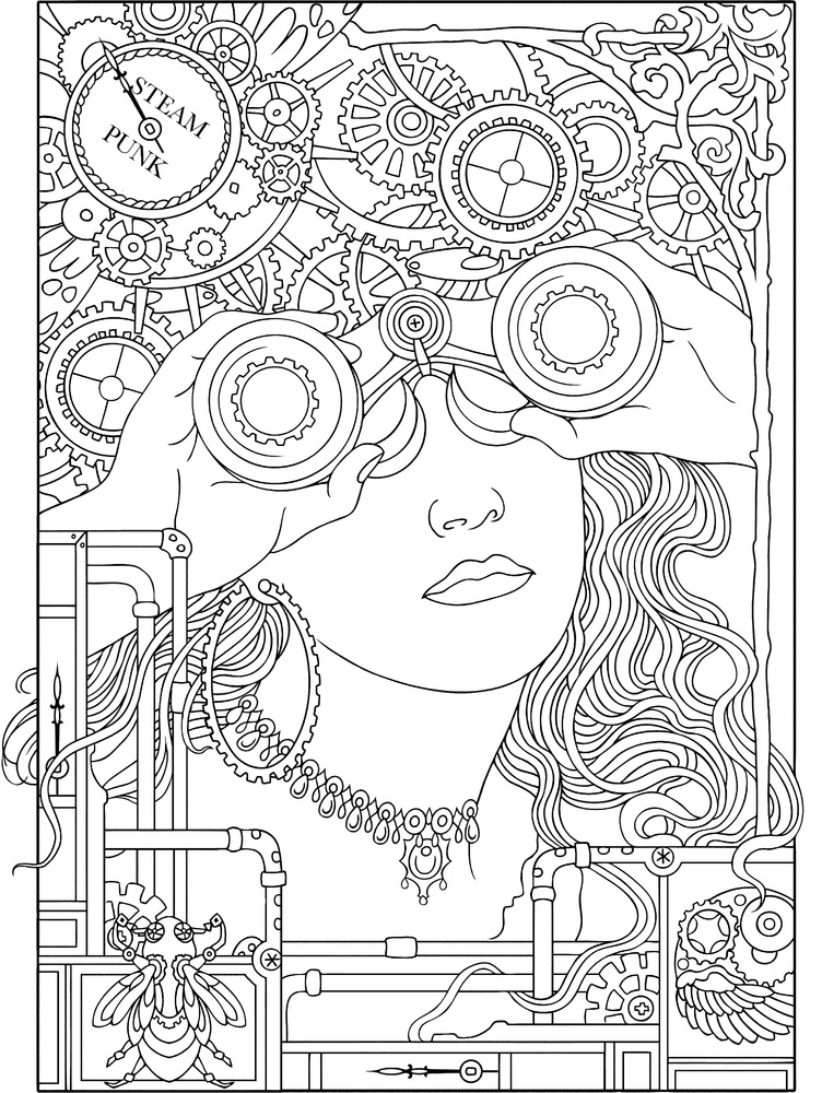 10 adult coloring books to help you de stress and self express - Adults Coloring Books