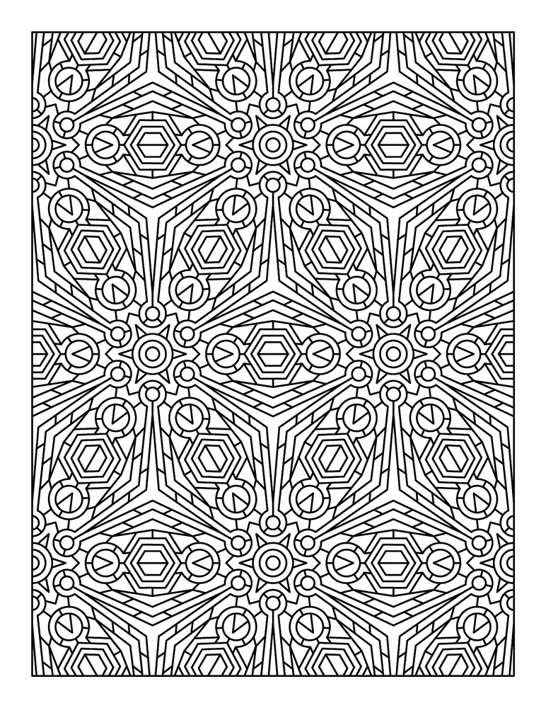10 adult coloring books to help you de stress and self express - Pattern Coloring Books