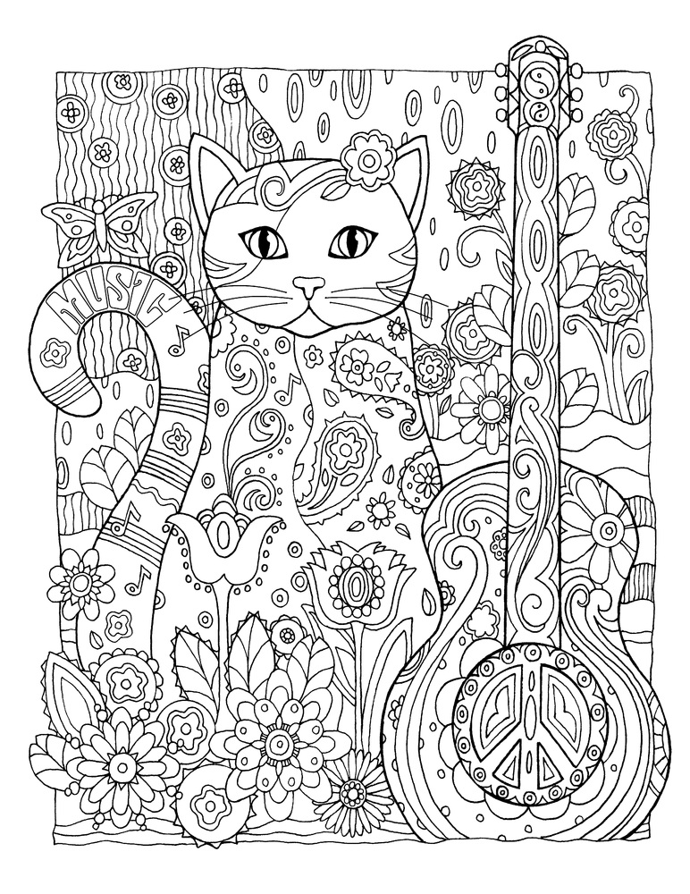 10 adult coloring books to help you de stress and self express - Color Books For Adults
