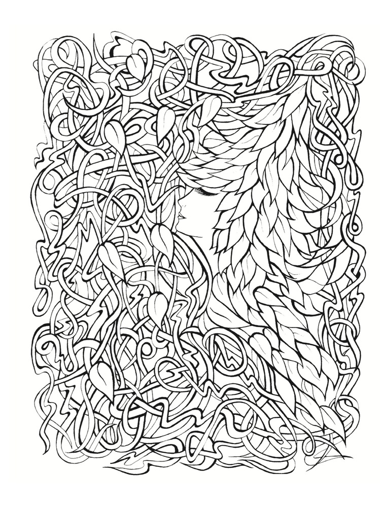 10 adult coloring books to help you de stress and self express - Coloring Book Pages For Adults 2