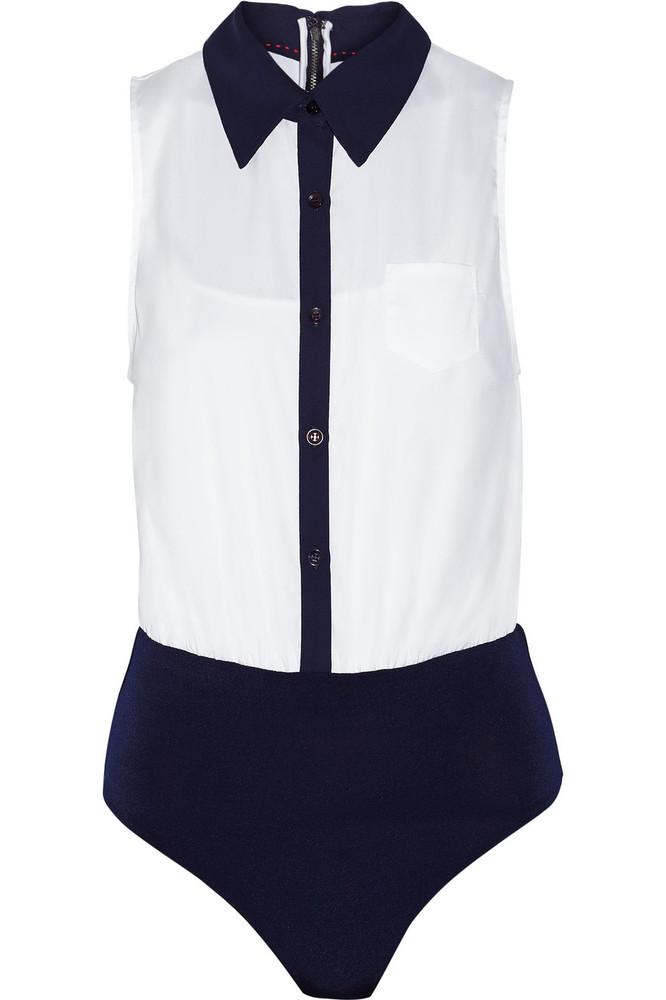 "<a href=""http://www.theoutnet.com/en-US/product/Alice-and-Olivia/Arden-cotton-blend-bodysuit/595872?cm_mmc=LinkshareUS-_-J84D"