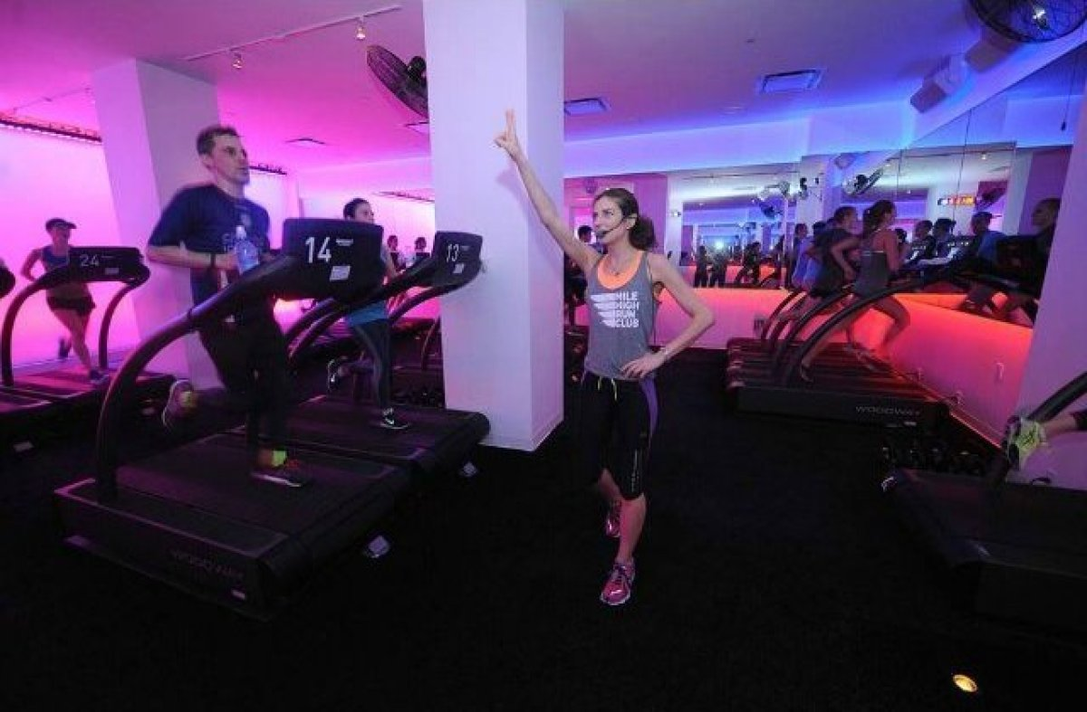 New York City Runners and fitness enthusiasts alike are flocking to MHRC: the first treadmill-based group exercise studio ded