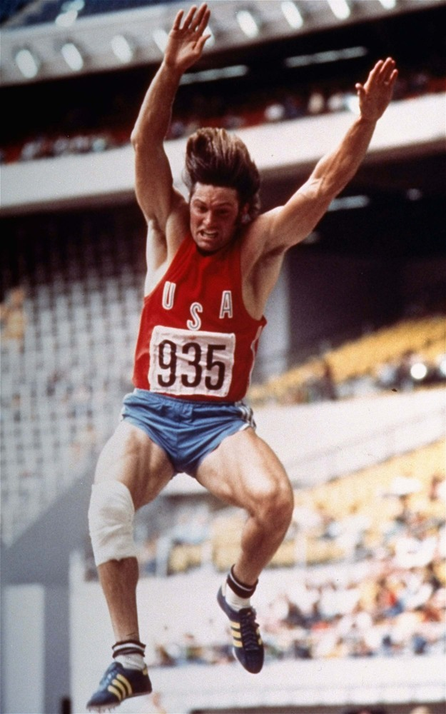 Bruce believes his dyslexia helped him win a gold medal at the 1976 Montreal Olympics, where he also set a new world record i