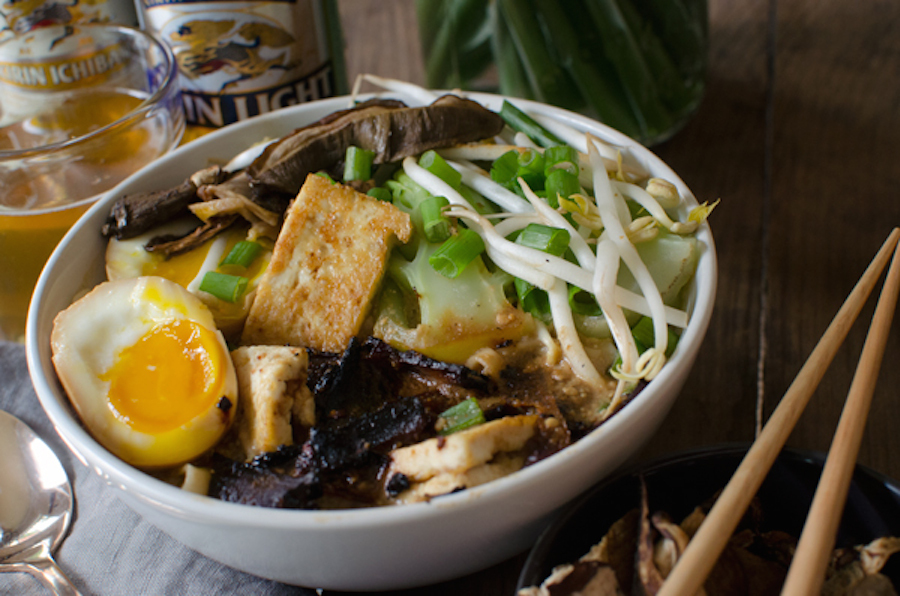 "<strong>Get the <a href=""http://asideofsweet.com/vegetarian-homemade-ramen-bowls-recipe/"" target=""_blank"">Vegetarian Homemade"