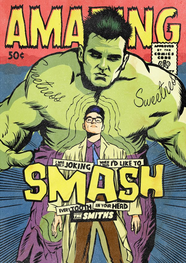 Ο Morrissey ως Bruce Banner / Hulk