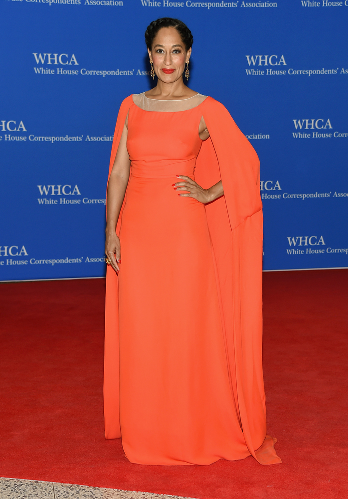 WASHINGTON, DC - APRIL 25:  Tracee Ellis Ross attends the 101st Annual White House Correspondents' Association Dinner at the