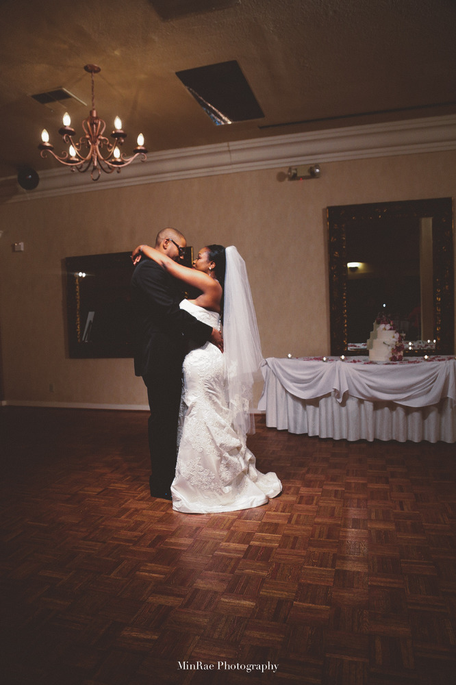 """The first dance as husband and wife. Congrats to the beautiful couple."" - Minden Boschetti"