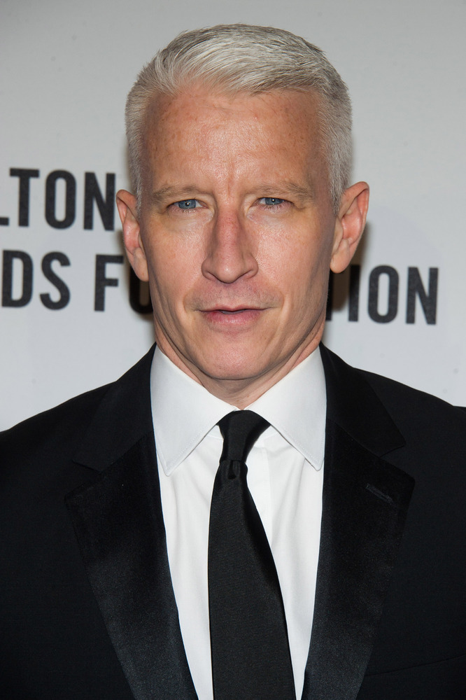 """The CNN news anchor and journalist <a href=""""http://www.cbsnews.com/news/the-newly-mindful-anderson-cooper/"""" target=""""_blank"""">a"""