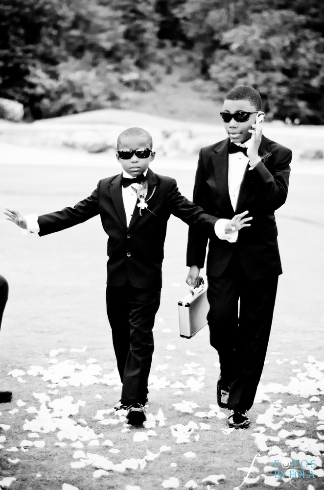 14 Adorably Stylish Ring Bearer Outfits That Are Tough Acts To