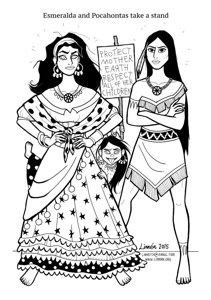 little girl coloring pages not copyrighted | 'Super Strong Princesses' Coloring Book Shows Little Girls ...