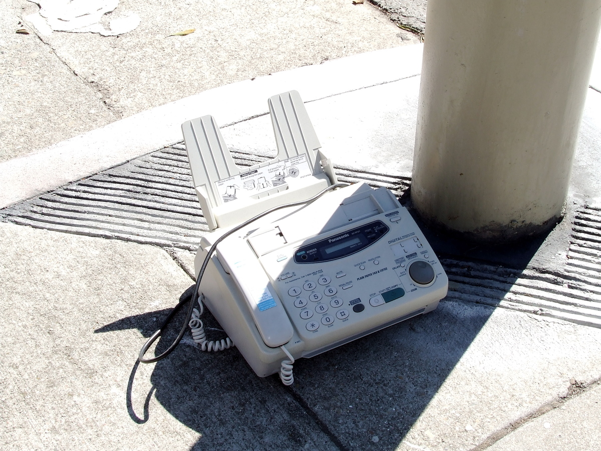Back before every printer had a scanner, smartphones had scanner apps, and email was ubiquitous, faxes were a popular form of