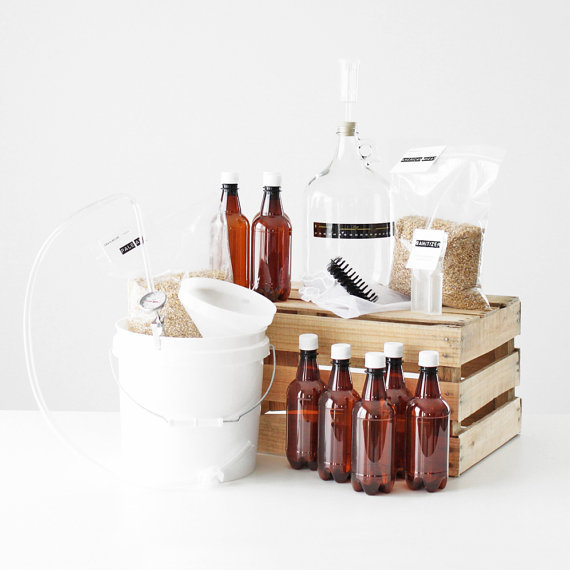 They might not have asked for a home-brewing kit, but you know they want one. Making their own beer at home will be an activi