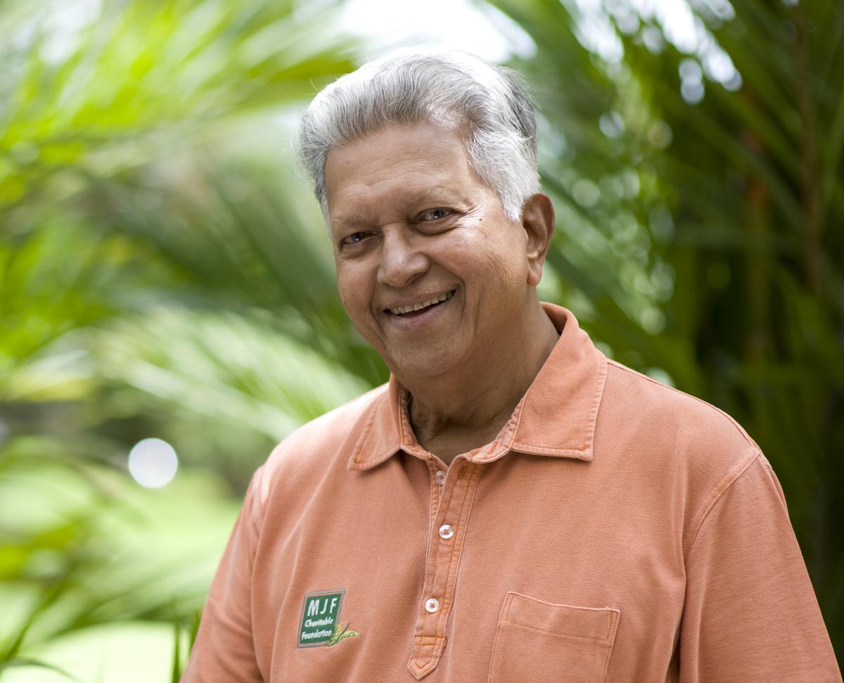 Founder of tea brand Dilmah