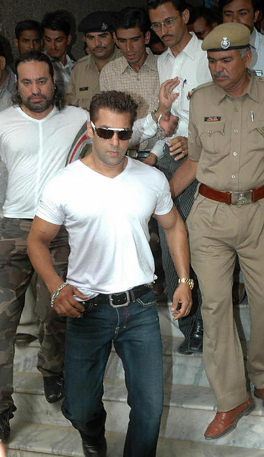 Salman Khan and a few other fellow actors were accused of hunting and killing black bucks (an endangered species) in Jodhpur