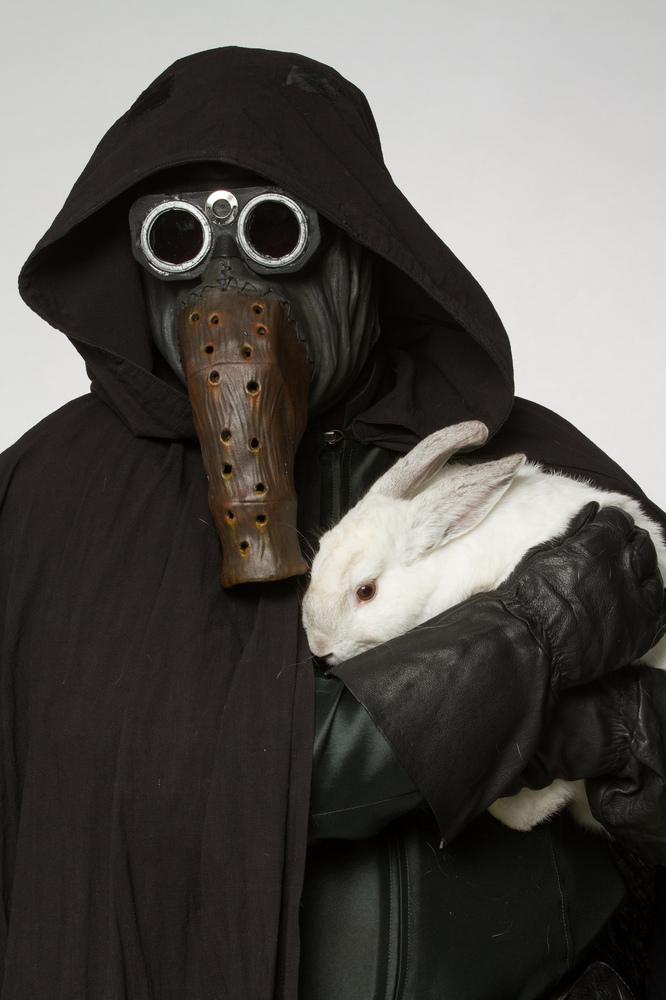 Garindan wants you to meet Murphy, the three year old Himalayan bunny.
