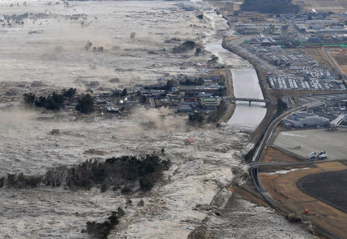 March 11, 2011: A magnitude-9.0 earthquake off northeastern Japan causes a tsunami that sweeps onto the coast. About 19,000 p