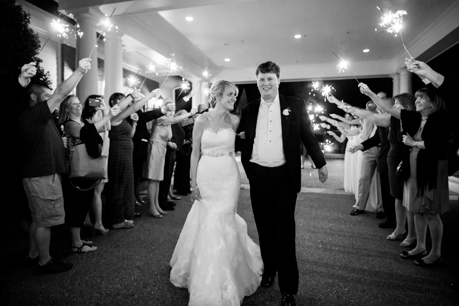 """Erin and James had a beautiful wedding with the ceremony at St. Francis and reception at Brier Creek Country Club in Raleigh"