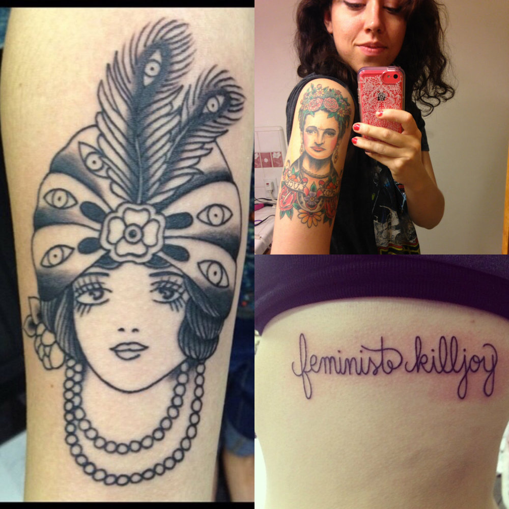 26 stunning photos of womens tattoos and the stories behind emive loved frida kahlo since i was a teenager buycottarizona Gallery