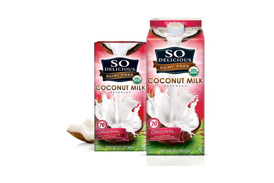 <strong>Taste: </strong>Coconut milk is sweet and creamy. Thanks to its higher content of healthy fat, it's a bit thicker tha