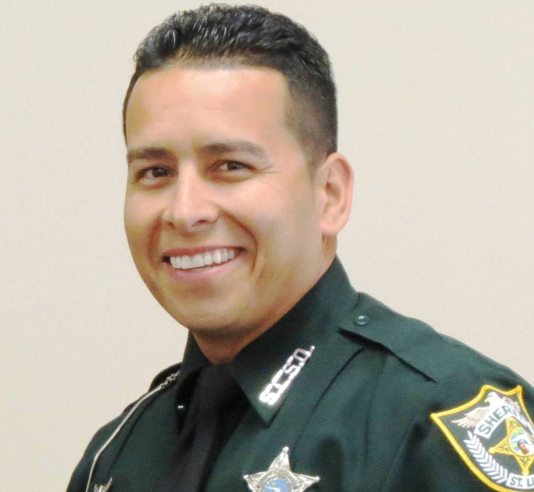 FEBRUARY 28 | ST. LUCIE COUNTY, FLORIDA Eriese Tisdale, 25, shot and killed Sergeant Gary Morales of the St. Lucie County She