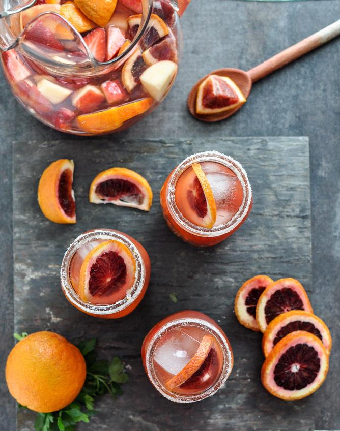 "<strong>Get the <a href=""http://www.howsweeteats.com/2013/02/blood-orange-sangria/"" target=""_blank"">Blood Orange Sangria reci"