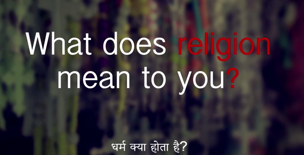 From highlighting basic issues such as like religion, casteism and the existence of God, the video uses the voice of innocent