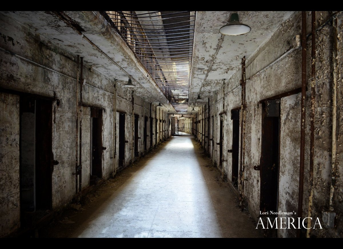 "Cellblock 14: Eastern State Penitentiary Historic Site, Philadelphia, PA; Photography © <a href=""http://www.lorineedleman.com"
