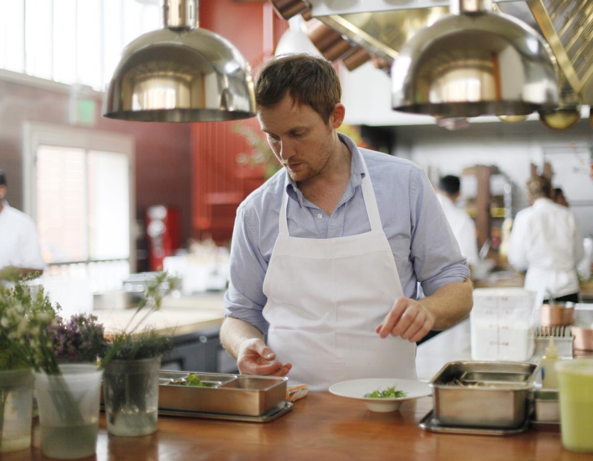 <em>Pictured: Chef Joshua Skenes of Saison in his kitchen (AP Photo/Eric Risberg)</em>