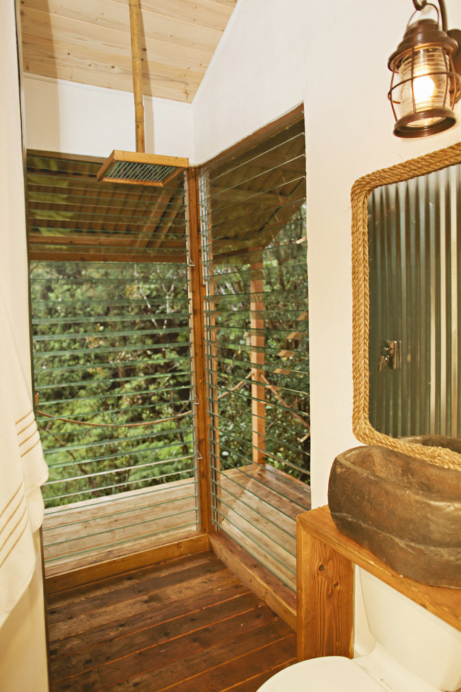 showers for tiny houses this tiny hawaiian treehouse is all your dreams come true and