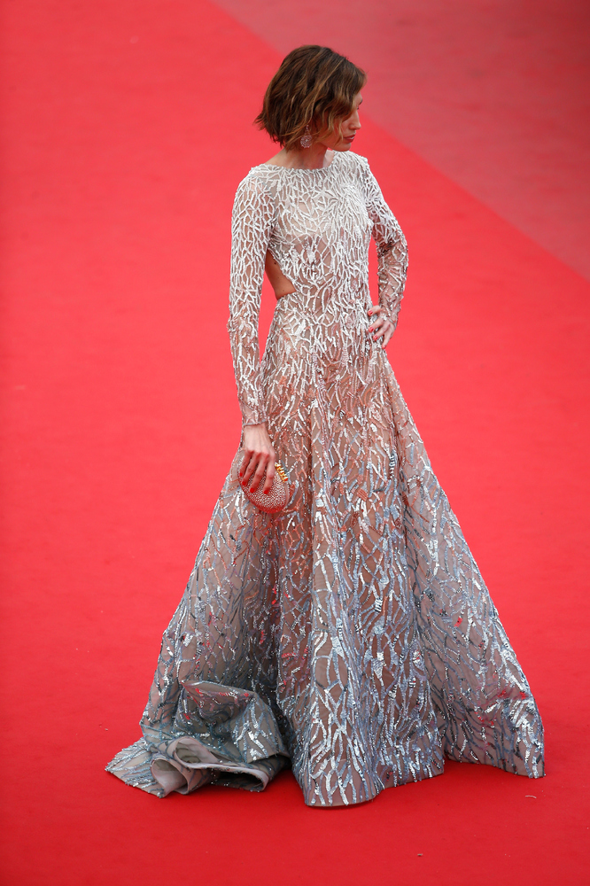 <strong>Nieves Alvarez in Elie Saab Couture:</strong> There are certain places where you can wear a stunning couture gown and