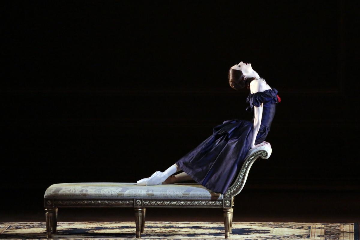 Svetlana Zakharova, photo copyright D.Yusupov