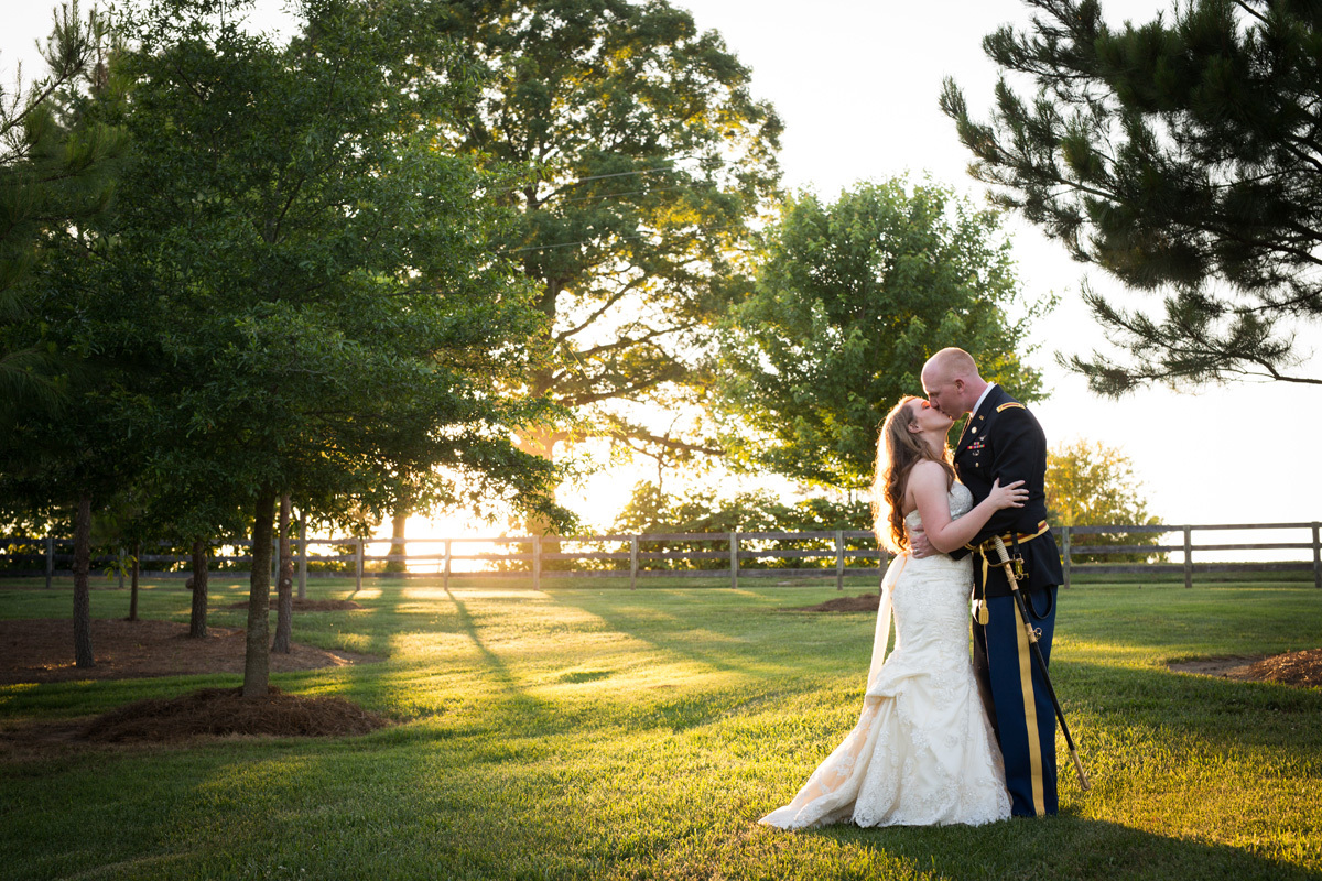 """""""Congratulations to Brittany and Mitch who were married this weekend at The Barn at Woodlake Meadows in Bear Creek, North Car"""