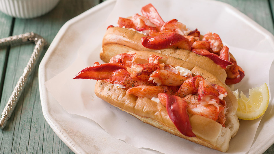 We love lobster rolls for their perfect pairing of high- (lobster) and low-end (hot dog bun) ingredients. This recipe for the