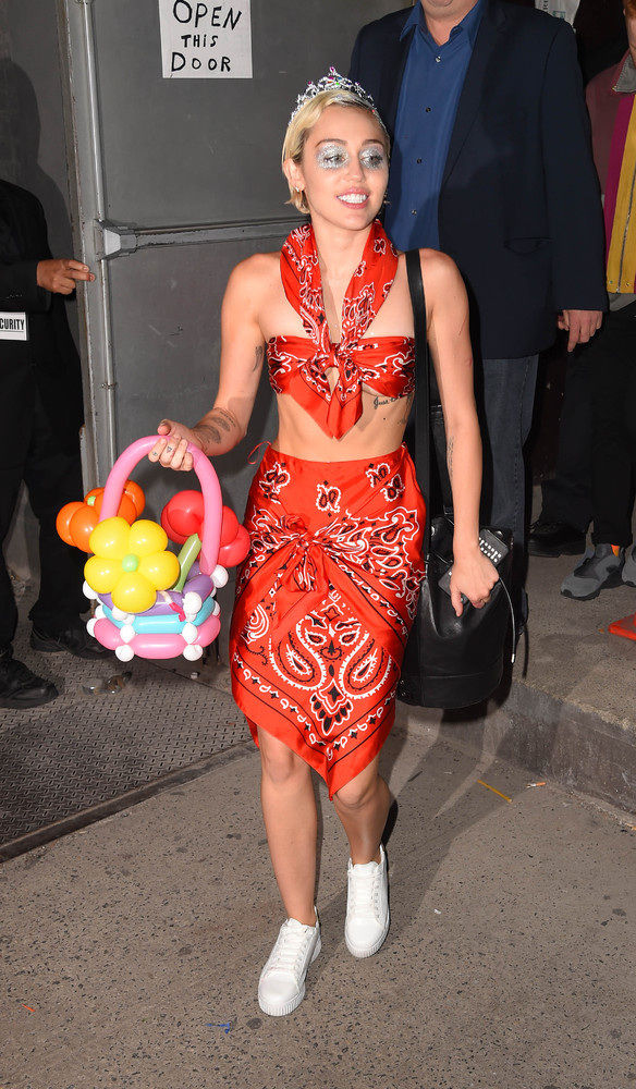 Out and about in New York City on May 13.