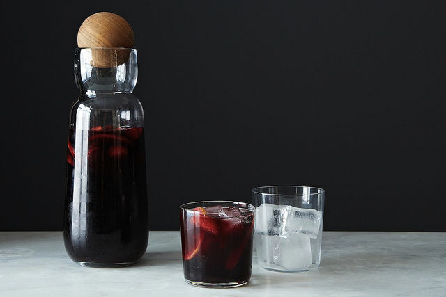 """<strong>Get the <a href=""""http://food52.com/recipes/23564-red-sangria"""" target=""""_blank"""">Red Sangria recipe</a> from Food52</str"""