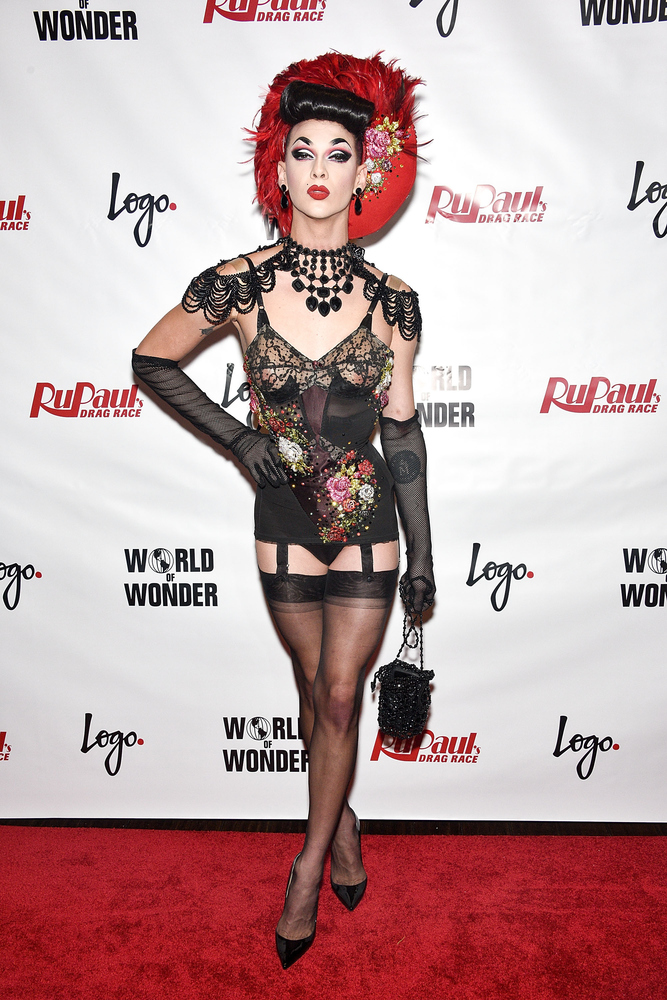 NEW YORK, NY - JUNE 01:  Violet Chachki attends 'RuPaul's Drag Race' Season 7 Finale And Coronation on June 1, 2015 in New Yo