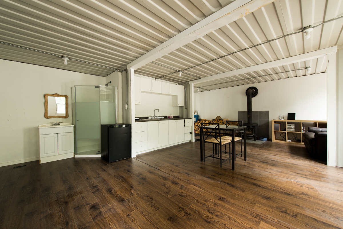 shipping container house interior. One Man Built A Home Out Of Shipping Containers And It s The Coolest Thing  Ever