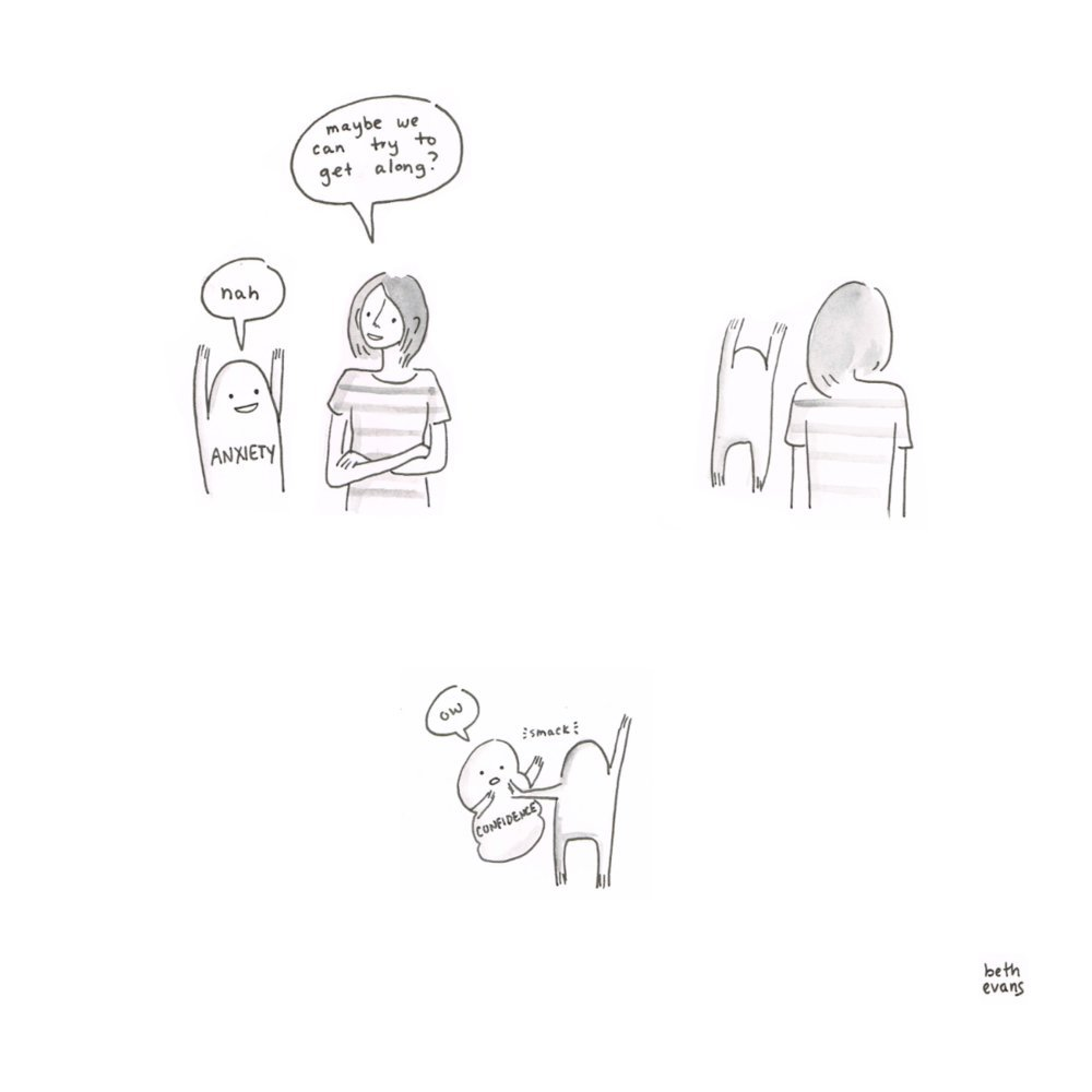 These Illustrations Perfectly Sum Up What Its Like To Have - Illustrator perfectly sums up what its like to be a woman in funny comics