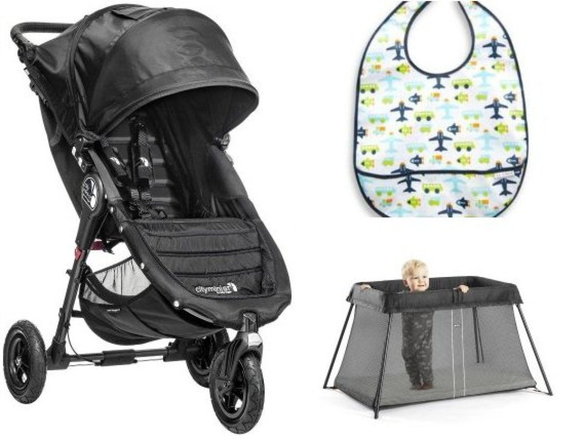 When you're traveling with a little, a stroller is not just a stroller. It is a bed, a high chair, a luggage trolley, and oft