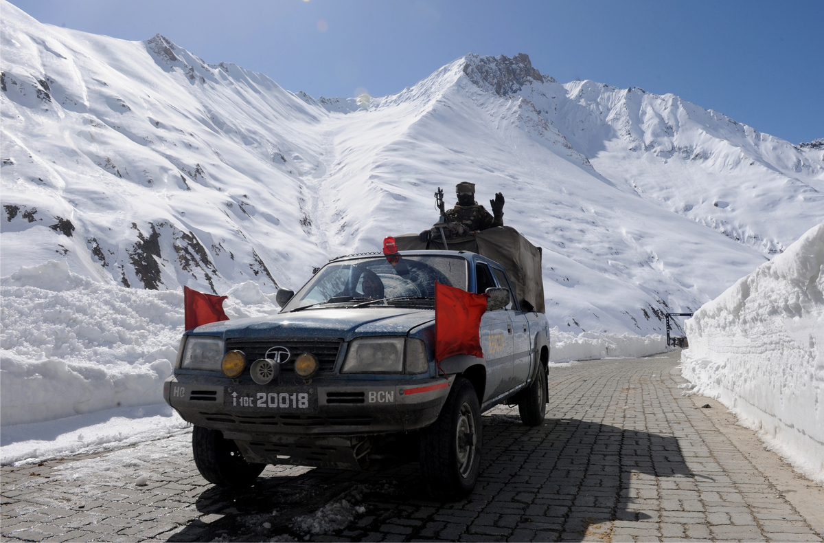 NH1-D is one of two roads that connect Ladakh with the rest of India, the other being Leh-Manali Highway. The 422 km long hig