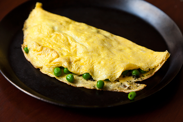 """<strong>Get the<a href=""""http://food52.com/recipes/4072-petite-pea-omelet-with-mint-and-mascarpone"""" target=""""_blank""""> Petite Pe"""